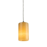 ELK Piedra 1-Light LED Pendant in Satin Nickel- 10169/1