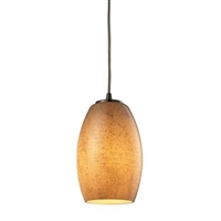 ELK Andover Collection 1-Light LED Mini Pendant in Satin Nickel- 10330/1TB