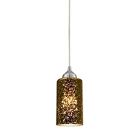 ELK Illusions Collection 1-Light LED Pendant in Polished Chrome- 10505/1