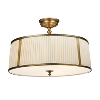 ELK Williamsport Collection 4-Light LED Mount in Vintage Brass- 11055/4
