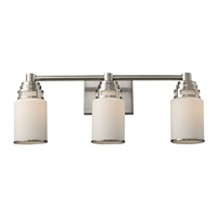ELK Bryant Collection 3-Light Vanity in Satin Nickel- 11266/3