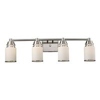 ELK Bryant Collection 4-Light Vanity in Satin Nickel- 11267/4