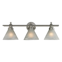ELK Pemberton Collection 3-Light Bath in Brushed Nickel- 11402/3