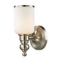 ELK Bristol Collection 1-Light LED Bath in Brushed Nickel- 11580/1