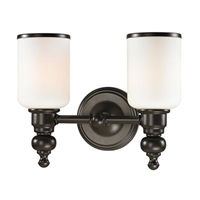 ELK Bristol Collection 2-Light LED Bath in Oil Rubbed Bronze- 11591/2