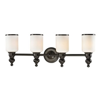 ELK Bristol Collection 4-Light LED Bath in Oil Rubbed Bronze- 11593/4