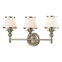 ELK Smithfield Collection 3-Light LED Bath in Brushed Nickel- 11602/3