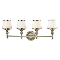 ELK Smithfield Collection 4-Light LED Bath in Brushed Nickel- 11603/4