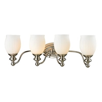 ELK Park Ridge Collection 4-Light LED Bath in Polished Nickel- 11643/4