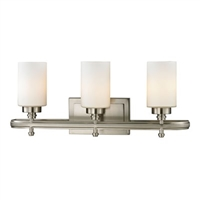 ELK Dawson Collection 3-Light LED Bath in Brushed Nickel- 11662/3