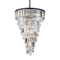 ELK Palacial Collection 15-Light LED Chandelier in Oil Rubbed Bronze- 14219/14