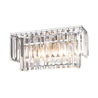 ELK Palacial Collection 2-Light Vanity in Polished Chrome- 15211/2