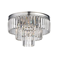 ELK Palacial Collection 3-Light Mount in Polished Chrome- 15215/3