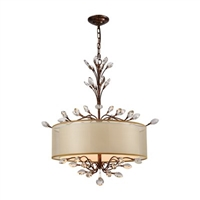 ELK Asbury Collection 4-Light Chandelier in Spanish Bronze- 16292/4