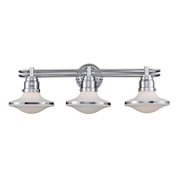 ELK Retrospective Collection 3-Light Bath in Polished Chrome- 17052/3