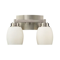 ELK Northport Collection 2-Light Sconce in Satin Nickel- 17101/2