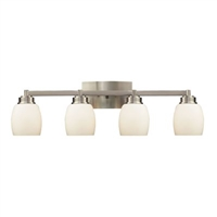 ELK Northport Collection 4-Light Vanity in Satin Nickel- 17103/4