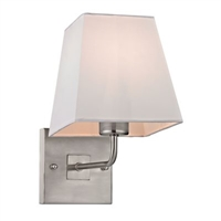 ELK Beverly Collection 1-Light Sconce in Brushed Nickel- 17152/1