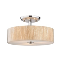 ELK Modern Organics Collection 3-Light Mount in Polished Chrome- 19038/3