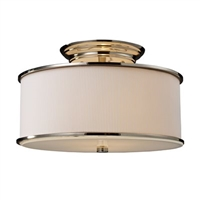 ELK Lureau Collection 2-Light Mount in Polished Nickel- 20061/2