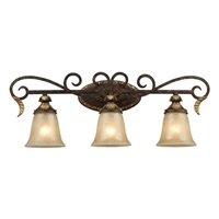 ELK Regency Collection 3-Light Vanity in Burnt Bronze- 2152/3