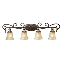 ELK Regency Collection 4-Light Vanity in Burnt Bronze- 2153/4