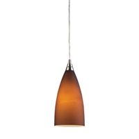 ELK Vesta Collection 1-Light Pendant in Satin Nickel- 2582/1
