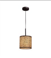 ELK Medina Collection 1-Light Mini Pendant in Aged Bronze- 31045/1