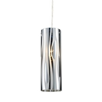 ELK Chromia Collection 1-Light Mini Pendant in Polished Chrome- 31078/1