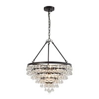 ELK Ramira Collection 6-Light Chandelier in Oil Rubbed Bronze- 31271/6