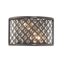 ELK Genevieve Collection 2-Light Sconce in Oil Rubbed Bronze- 32100/2