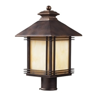 ELK Blackwell Collection 1-Light Outdoor Post- 42104/1