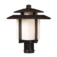 ELK Kanso Collection 1-Light Outdoor Post- 42173/1