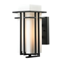 ELK Croftwell Collection 1-Light Outdoor Sconce- 45085/1