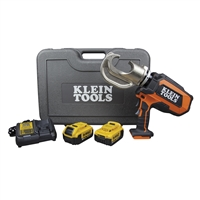 Klein Battery-Operated 12-Ton Crimper Kit BAT20-12T1651