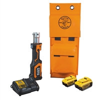 Klein Battery-Operated Cutter/Crimper, No Heads, 4 Ah : BAT207T134H