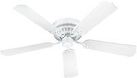 "Quorum 42"" BL CUSTM SERS Fan- White"