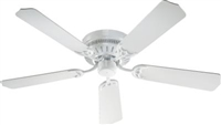 "Quorum 52"" BL CUSTM SERS Fan- White"