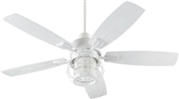 Quorum Galveston Patio Fan- Studio White
