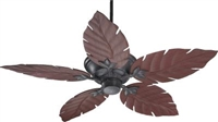 "Quorum 52"" Monaco Patio Fan- Toasted Sienna"