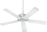 Quorum All Weather Allure Fan- White
