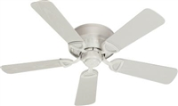 "Quorum 42"" Medallion Patio Fan- Studio White"