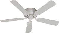 "Quorum 52"" Medallion Patio Fan- Studio White"