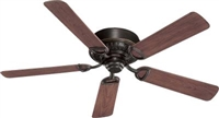"Quorum 52"" Medallion Patio Fan- Old World"