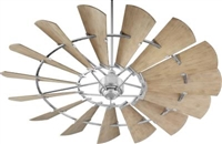 "Quorum 72"" Windmill Damp Fan"