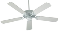 "Quorum Capri 42"" Fan- White"