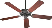 "Quorum Capri 52"" Fan- Toasted Sienna"