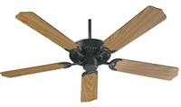"Quorum Capri 52"" Fan- Matte Black"