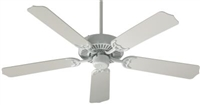 "Quorum Capri 52"" Fan- White"