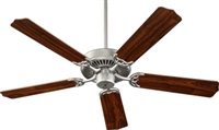 "Quorum Capri 52"" Fan-Satin Nickel"